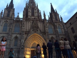 Barcelona Cathedral, Gothic tour