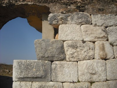 Roman wall and gate